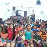Evangelização de crianças da ICM de Pescaria - AL
