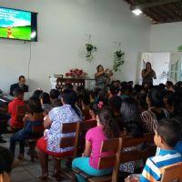 Evangelização de crianças da ICM de Barra de Sto. Antônio - AL