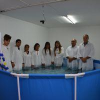 Batismo da Igreja Cristã Maranata em Barcelona - Espanha