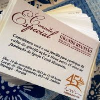 Missão Sul: Preparativos para o Culto Especial no Maanaim de Maringá-PR.