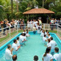 Крещение в районе Виана - ЭС