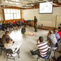 Curso de Procedimentos de Emergência no Maanaim de Domingos Martins - ES