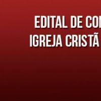 Edital de convocação de Assembléia Geral Ordinária