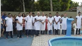 Cultos de Batismo da Igreja Cristã Maranata em diversos lugares do Brasil
