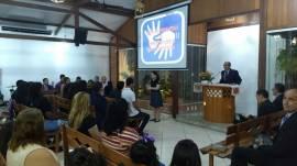 Oficina de Libras é concluída pela Área Norte do Pará e intérpretes realizam culto de glorificação