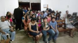 Culto especial é realizado na Bolívia, na cidade de Santa Cruz de la Sierra