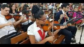 Projeto Aprendiz participa de culto de glorificação em Dom Cavati (MG)