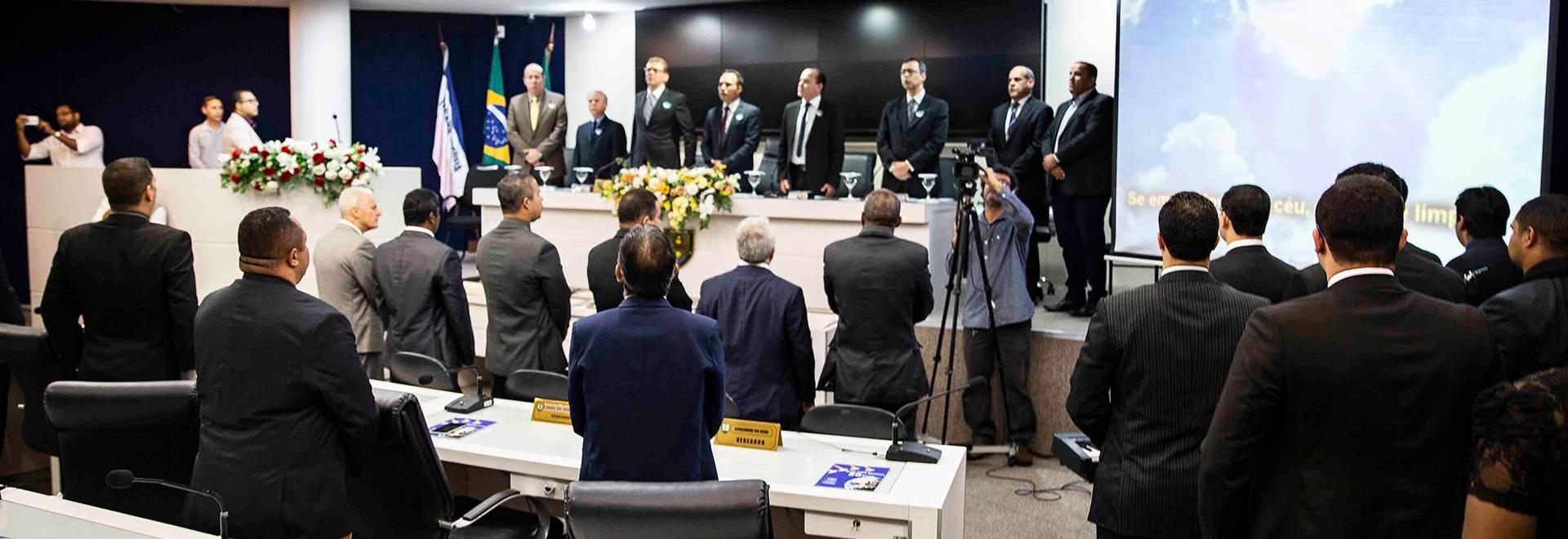 Poder Legislativo da Serra (ES) homenageia a Igreja Cristã Maranata